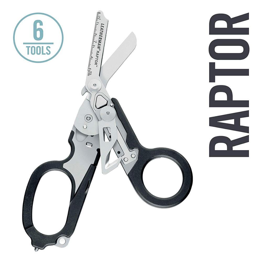 Ножницы для экстренного реагирования LEATHERMAN Raptor с режущим резаком и стеклянным выключателем Tan с совместимой кобурой MOLLE