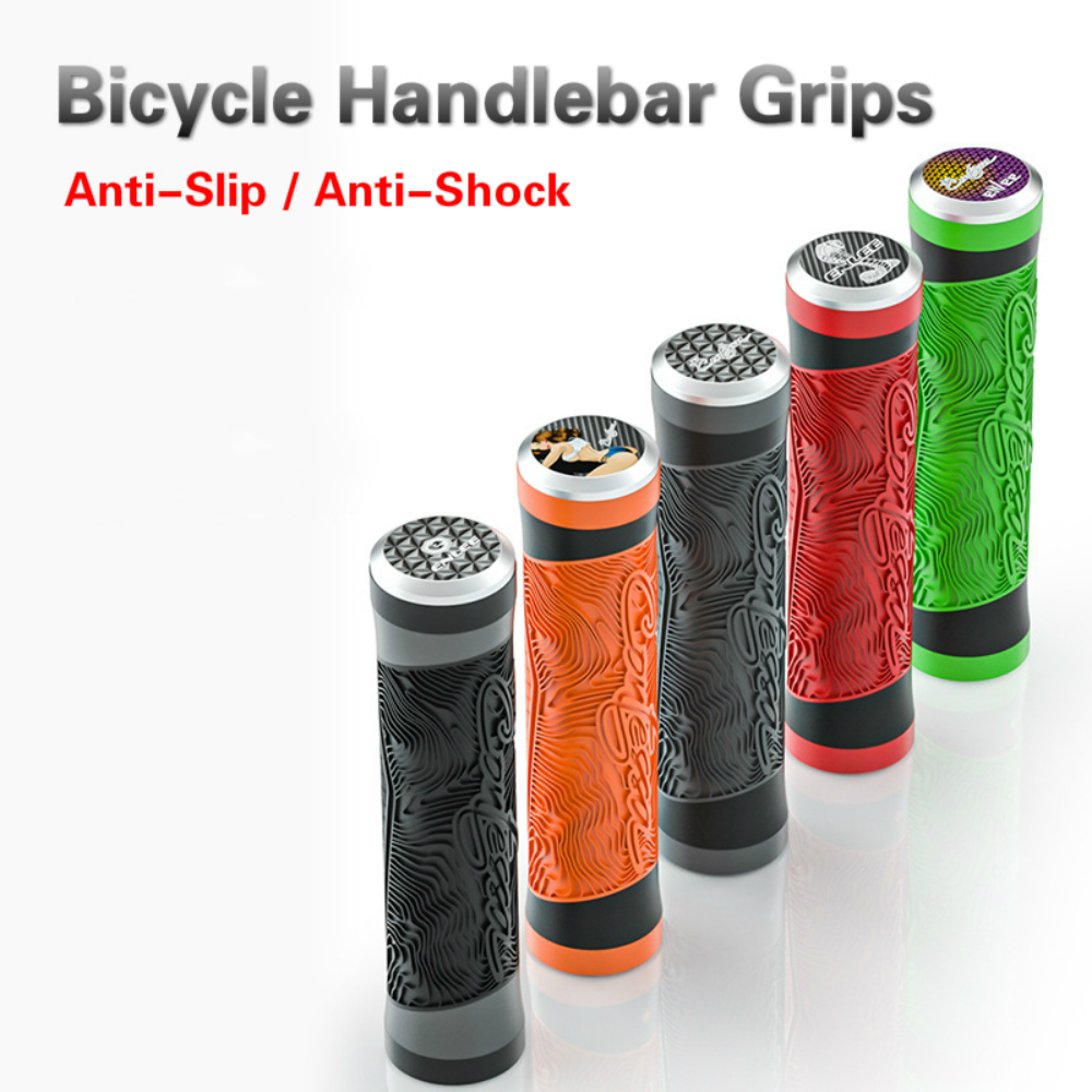 Ultralight MTB Road Bicycle Handlebar Grips Silicone Anti-Slip Shockproof Mountain Bike Handle Grips 22.2mm Folding Bicycle Grip