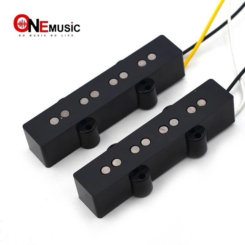Открытый Alnico 5 Jazz JB бас пикап шеи или мост Пикап Плетеный тканевый кабель для 4 струнных басов частей|Детали и аксессуары для гитар|   | АлиЭкспресс