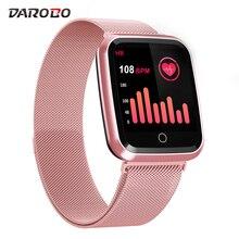Darobo N99 Sport Hartslagmeter Smart Horloge Waterdicht Bloeddrukmeting Mannen Vrouwen Smartwatch Voor Android Ios Apple