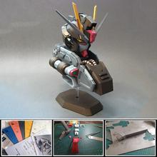 Model karty Gungam zabawka czarny delikatny GAT-X105E Strike Noir popiersie Gundam 3d papier Model DIY dekoracje collocations tanie tanio Tektury GD005 keep away from fire 14Y Dorośli Fantasy i sci-fi