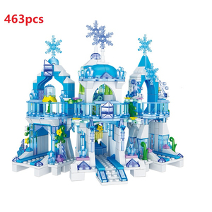 Image 1 - เจ้าหญิงตัวเลขSnow Queenปราสาทน้ำแข็งรุ่นBuilding Blocks Cityเพื่อนอิฐของเล่นเพื่อการศึกษาเด็กDIYของเล่น