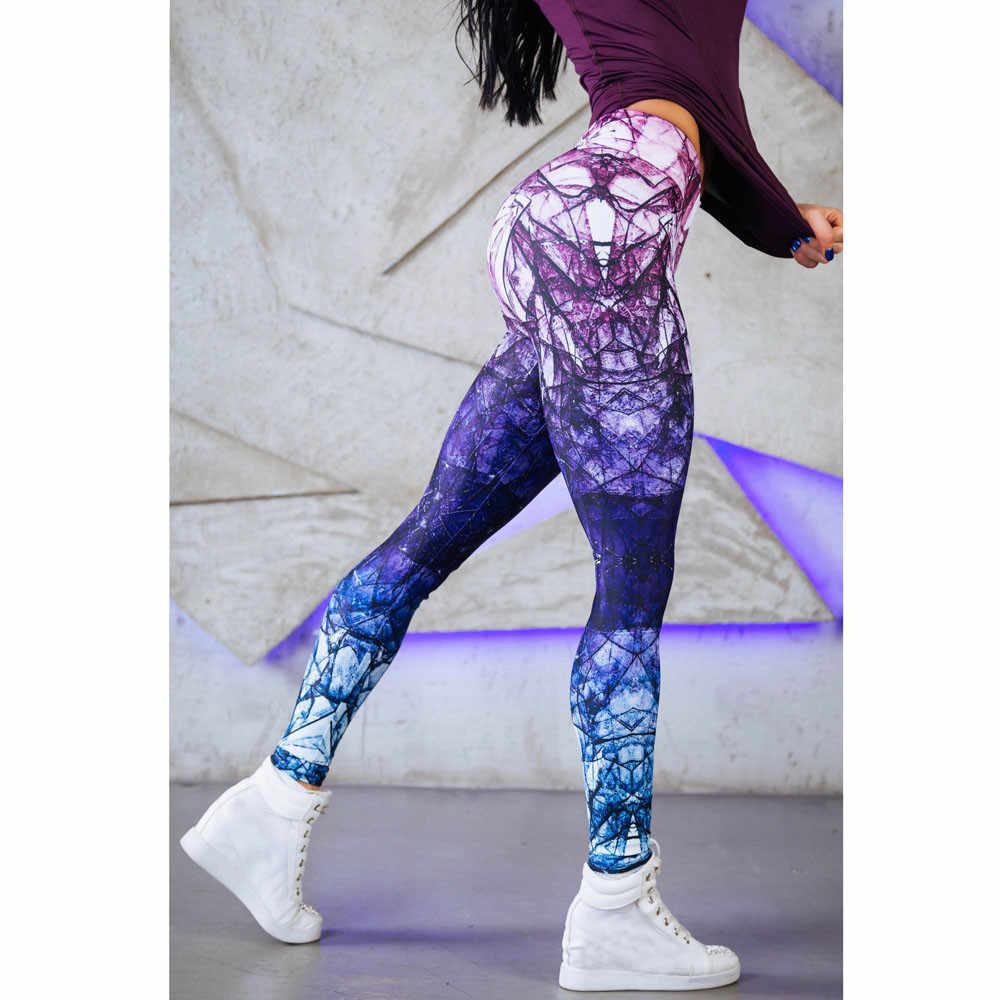 女性ハイウエストおなかコントロールレギンスシームレスなスポーツレギンスフィットネススポーツウェア女性のためのジムパンツ #30