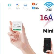 1 шт 16 А 2 сторонний мини переключатель с wi fi универсальный