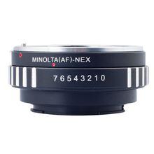 ABKT adaptador para Minolta MAF AF lente a E montaje NEX 3 CÁMARA DE NEX 5 DC111