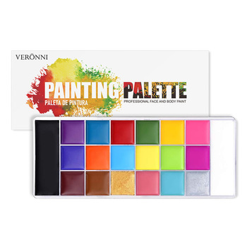 12/20 Colors Face Body Painting Oil Safe Kids Flash Tattoo Painting Art For Halloween Party Cosmetic Fancy Dress Makeup Palette 1