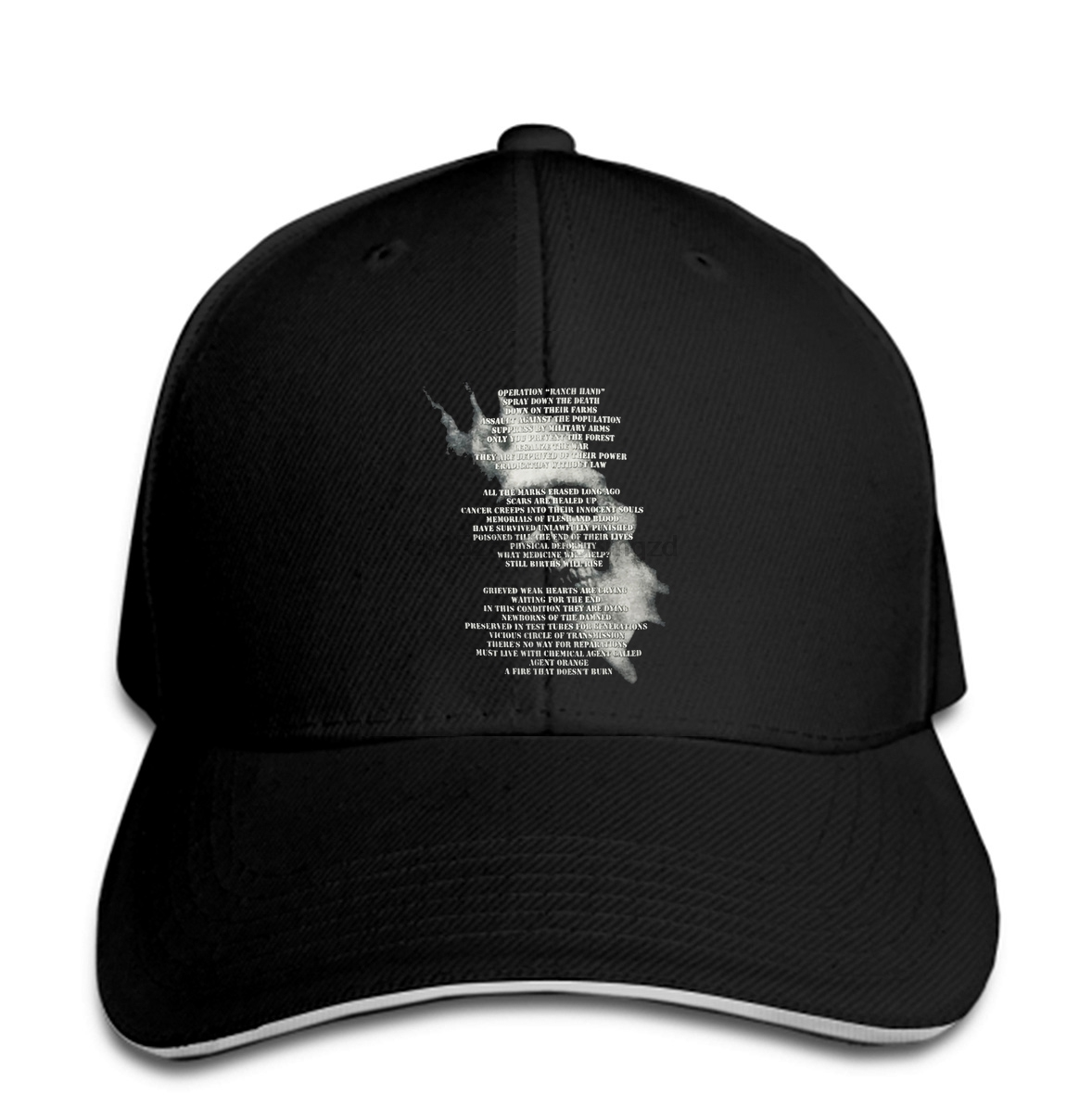 New Sodom Agent Orange Thrash Metal Album Hat badhabitmerch Snapback Cap Women Hat Peaked image