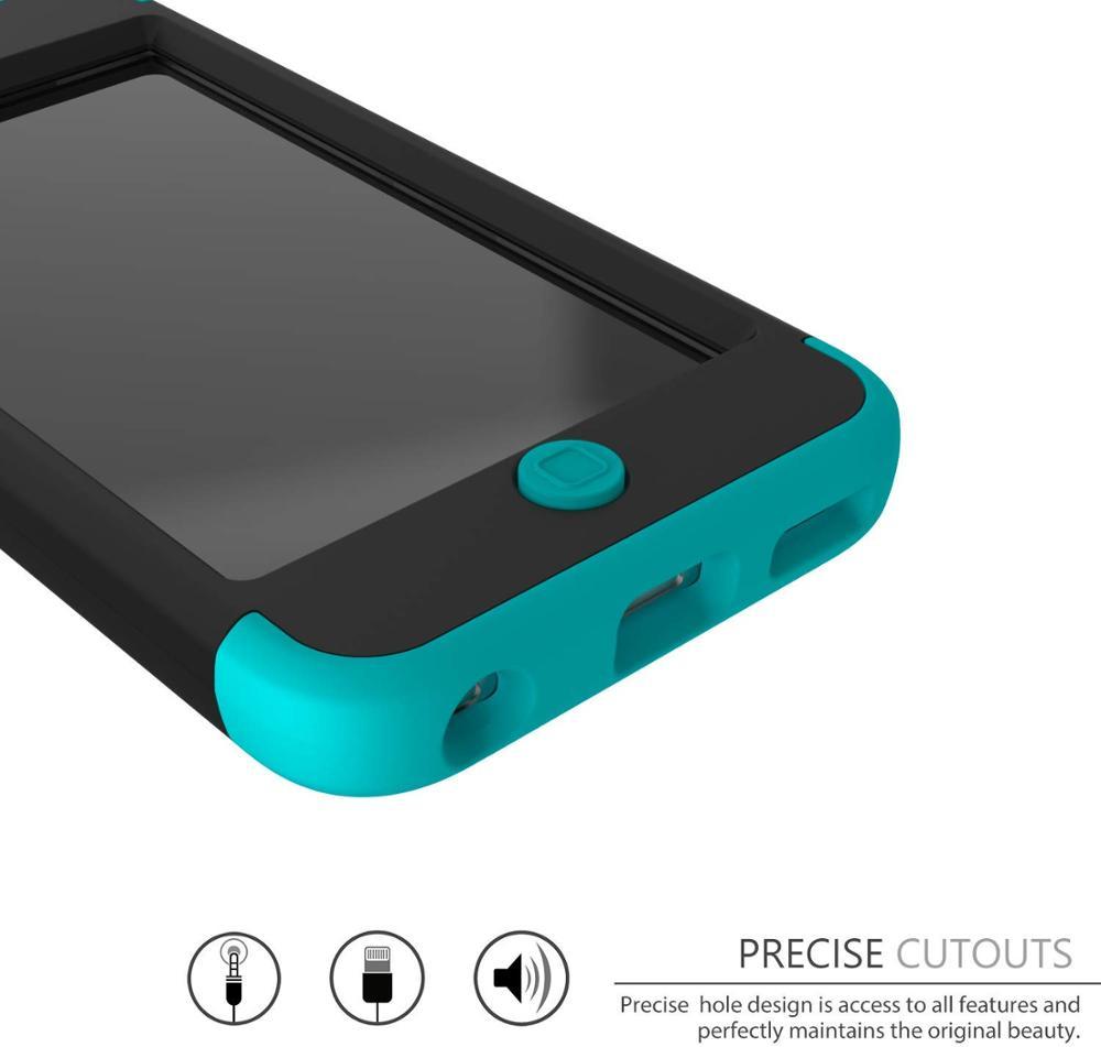 iPod Touch 7 / Touch 6 için Kılıf, Yüksek Etkili Ağır Darbeye - Cep Telefonu Yedek Parça ve Aksesuarları - Fotoğraf 5
