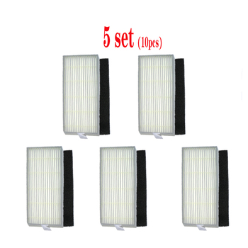 ILIFE A4 chuwi ilife A4s A40 Robot Vacuum Cleaner Replacement accessories Parts Kits- Filter Main Brush Side Brushes for ilife a40 accessories chuwi ilife a4s a40 robot vacuum cleaner parts kits replacement dust hepa filter main brush side brush