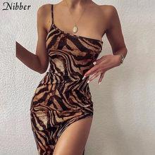 Nibber – Robe longue vintage, élégante, slim et sans manches pour femme, tenue gracieuse, sexy, de soirée, banquet et de rue, été, 2020