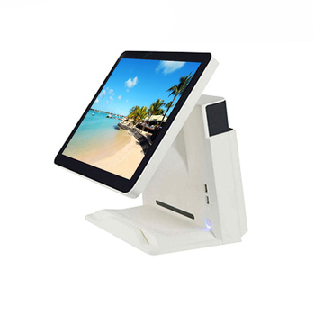 computer display windows POS Hardware retail cash register 15 inch capacitive touch screen DDR3 8G  cash rgeister