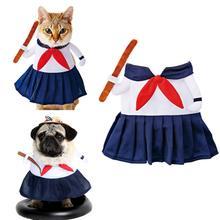 Одежда для домашних животных кошек собак Хэллоуин котенок щенок