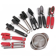 Manual Can Openers, Ultra Sharp Blades, Smooth Edge Opening, Durable Anti Slip Grip Handles, Kichen Accessories