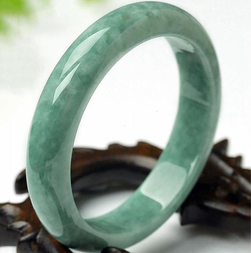 AAA Beautiful Bangle Chinese Green Jade Hand-Carved Bracelet 54mm-64mm Hot