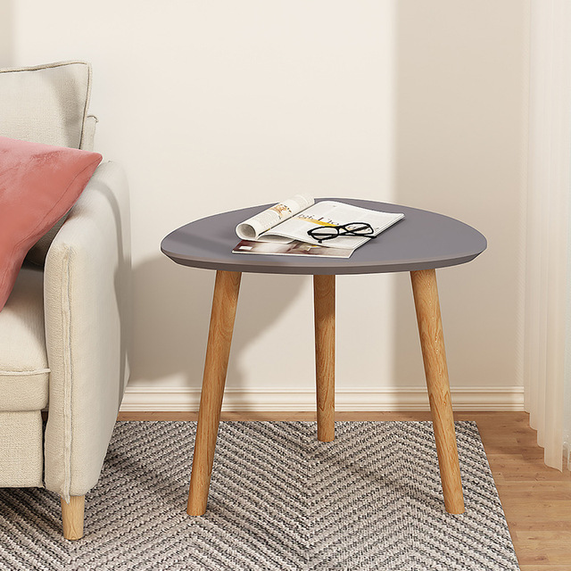 Wooden Triangle  Coffee Table  3