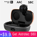 Astrotec S90 Pro Bluetooth 5.0 Aptx Wireless Earphones Dual Knowles BA Driver Dual Mic Noise Reduction Rrue Wireless Earbuds