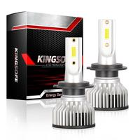 2pcs F2A-LED H7 40W 4000LM Car Haedlight H4 H7 H1 LED H8 H9 H11 3000K 6000K 6500K 8000K 25000K Auto Fog Light 1