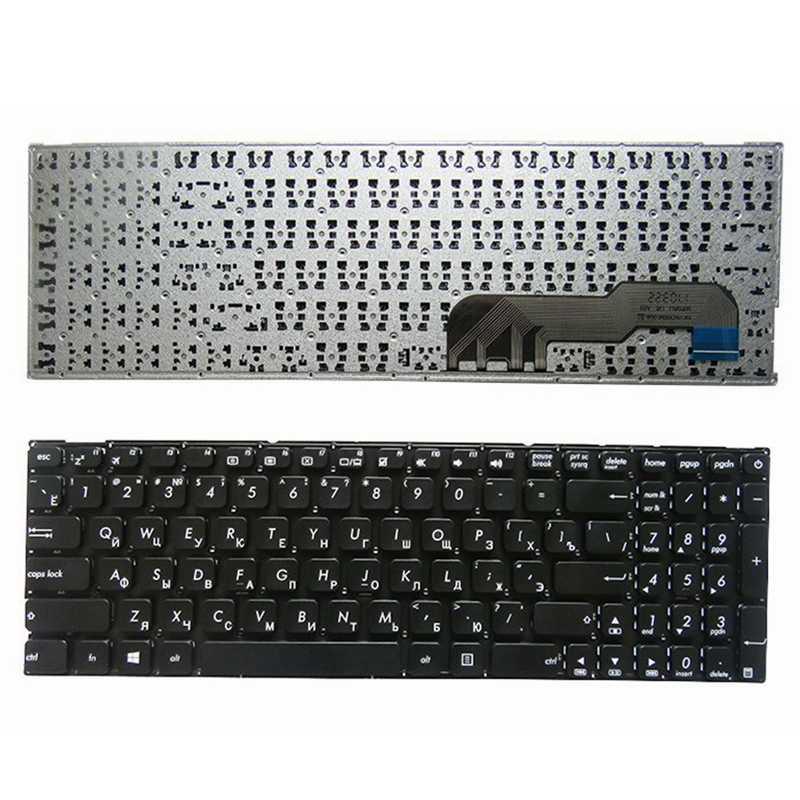 Ru Zwarte Laptop Toetsenbord Voor Asus S3060 SC3160 R541U X441SC X441SA X541N X541NA X541NC X541S X541SA X541SC X541 Ru Zwart