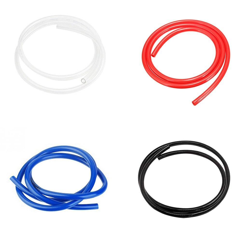 Мотоциклетная топливная линия, 4 цвета, полиуретановый материал, маслопровод для мотоцикла, шланг, 1 метр, аксессуары для мотоциклов