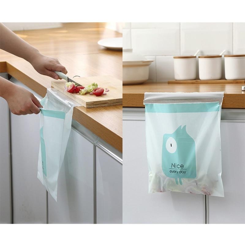 15 шт. кухонный мусор сумка автомобильный мешок для мусора Удобная мультяшная паста мультяшная Чистящая сумка одноразовый пакет для мусора