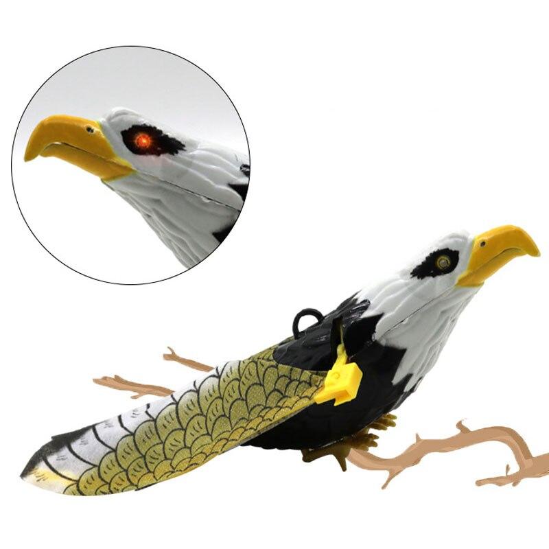 Электрическая Птица орел вращение висячий орел электрический дисплей Летающий орел смешной пластик реалистичный смешанный цвет