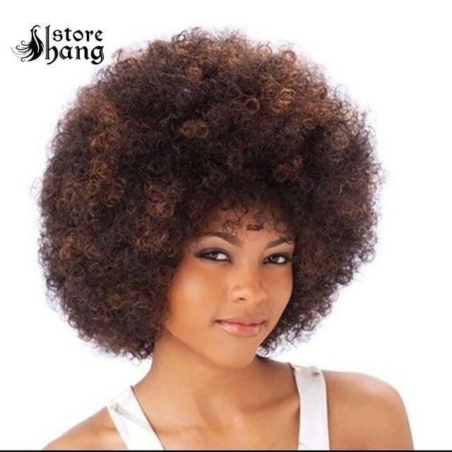 Disco afro cabelo de alta qualidade 60s 70s 80s hippie afro cabelo curto encaracolado halloween headwear tema festa trajes discoteca acessórios