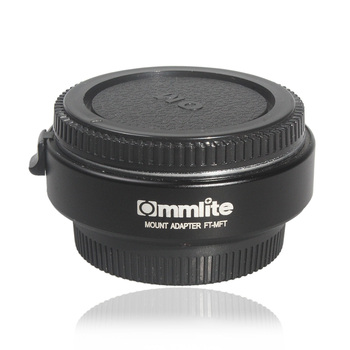 Commlite CM-FT-MFT Electronic Auto Focus Lens Mount Adapter Ring for Canon Olympus M4/3 Series DSLR Camera r25