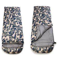 Buy HobbyLane High Quality Cotton Camping Sleeping Bag 15 To 5degree Envelope Style Army or Military or Camouflage Sleeping Bags directly from merchant!
