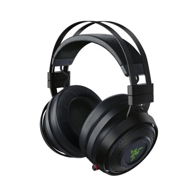 Razer Nari Ultimate Gaming ชุดหูฟังหูฟังไร้สายหูฟัง 7.1 หูฟังเสียงรอบทิศทาง THX เชิงพื้นที่เสียง Haptic ข้อเสนอแนะ