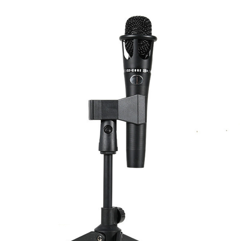 Microphone Stand Desktop Tripod Mini Portable Table Stand Adjustable Mic Stand Mic Clip Holder Bracket Lightweight Bracket 3