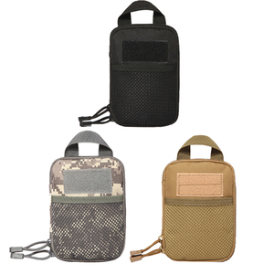 Multifunctional Outdoor Military Tactical Waist Bag EDC Molle Tool Zipper Waist Pack Accessory Durable Belt Pouch