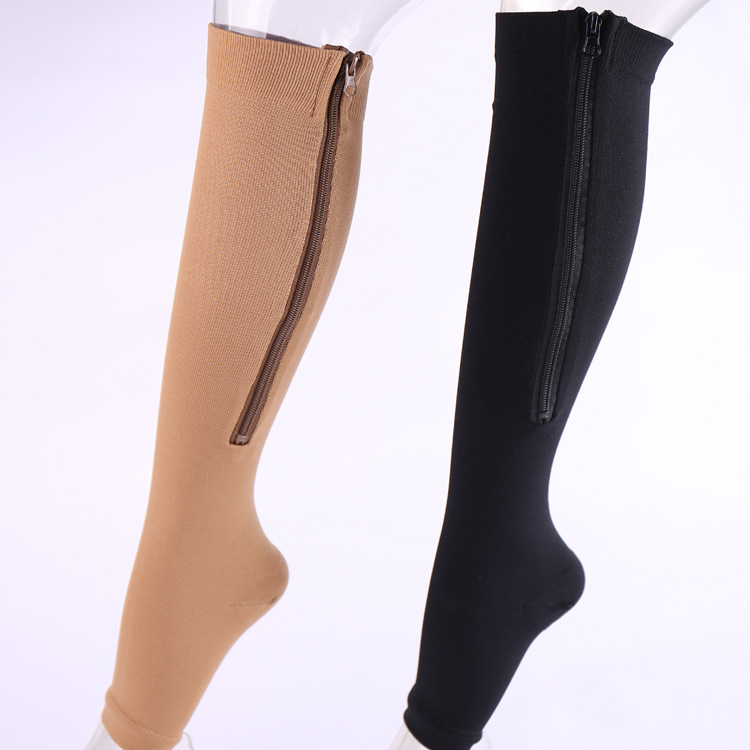 Pressure Socks For Men And Women With The Same Style Elastic Shin Protector Step Toe Socks
