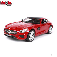 Maisto 1/24 Scale Simulated Alloy Car Model Toy For Benz AMG GT Diecast Car Model Collection For Man Kids Gfit