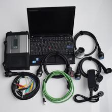 Super mb star c5 ssd x200t ноутбук sd Подключение c 5 с программным обеспечением новейшая версия Диагностика для 12 В 24 в Поддержка Wi-Fi высокое качество