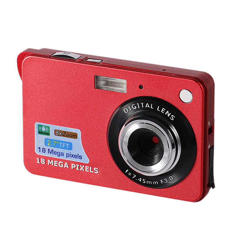 HD 2.7 Inch Mini Digital Camera Portable, Point And Shoot Children's Camcorder Rechargeable For Kids Boys Girls Gift Camping/Out