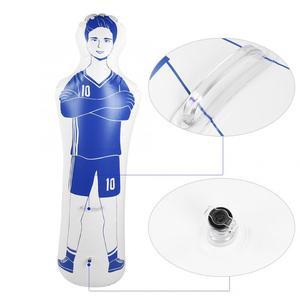 Image 3 - Bolinha inflável para futebol, adulto, durável, 1.6m, treinamento, gol, futebol de ar, maçaneta, ferramenta de treinamento, inflável, parede de pvc