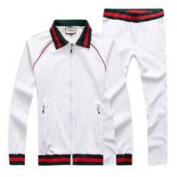 Сумки с изображением звезды двойной буквы GG 2020, новый спортивный костюм с модным логотипом на боку, куртка с длинным рукавом, длинные штаны, ...