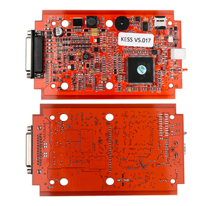 Image 3 - الاتحاد الأوروبي الأحمر KESS V2.53 5.017 KTAG V2.25 7.020 النسخة عبر الإنترنت LED BDM الإطار BDM التحقيق 22 قطعة KESS 2.53 KTAG 4LED وحدة التحكم الإلكترونية البرمجة