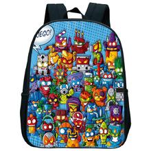 2020 nowy plecak szkolny Super Zings plecak popularny wzór plecak dziecięcy plecak na co dzień plecak dziecięcy w wieku przedszkolnym tanie tanio NYLON Tłoczenie Unisex Miękka Poniżej 20 litr Miękki uchwyt NONE zipper Łukowaty pasek na ramię backpack Poliester