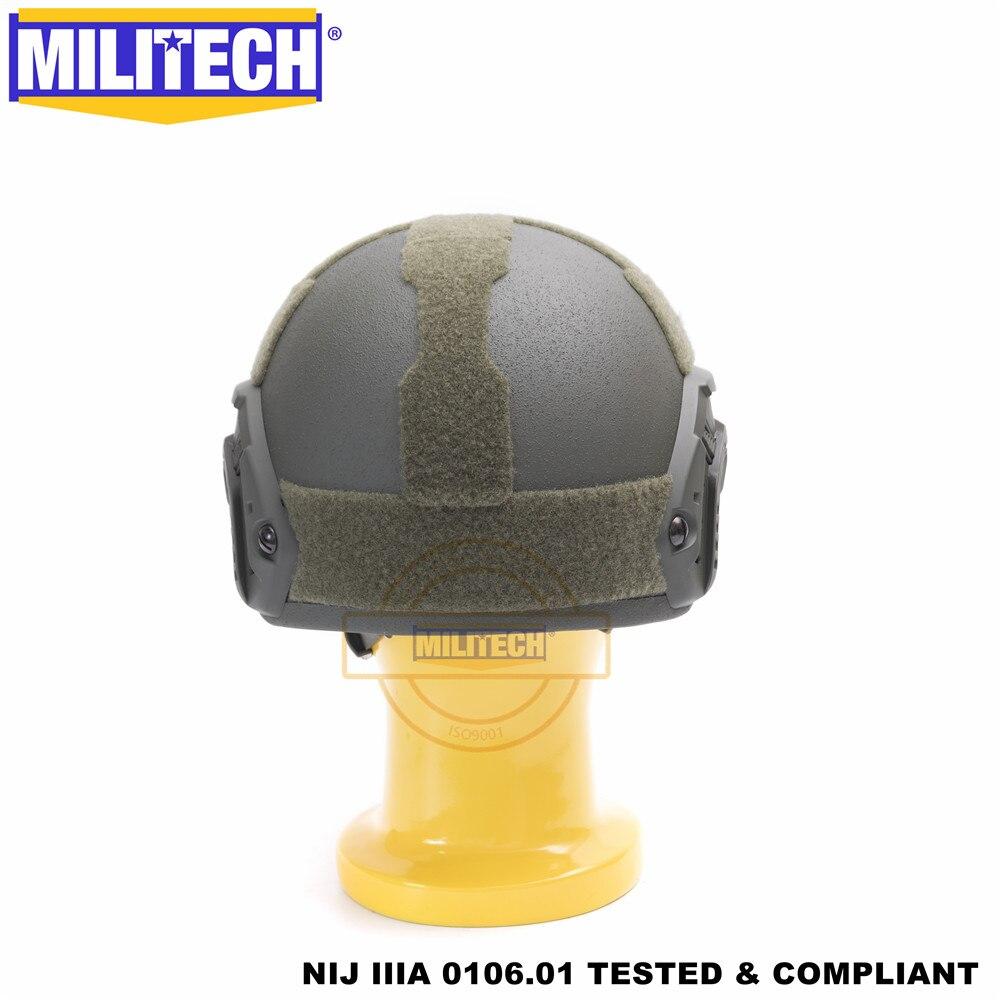 MILITECH балістычны шлем FAST OD Deluxe - Бяспека і абарона - Фота 5