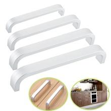 Алюминиевый длинная ручка мебельный Шкаф дверца дверные ручки Спальня шкаф для одежды Кухня ручки для ящиков MK