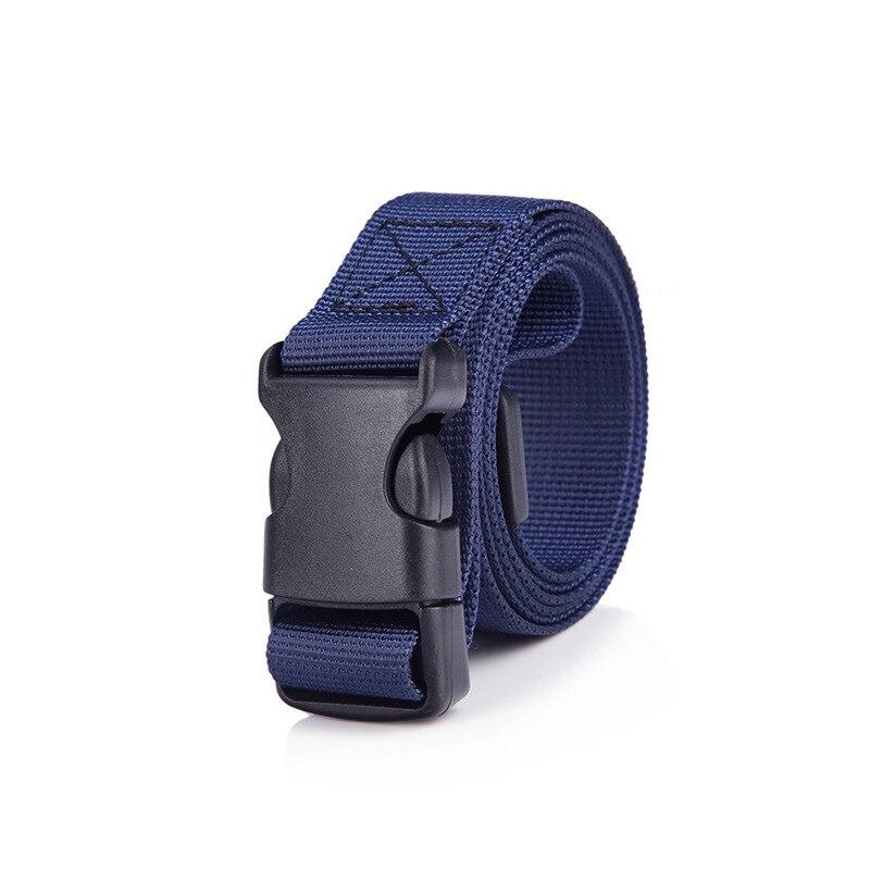 Belt Leisure Tactical Outdoor Military Gentleman Breathable  Waist Men Canvas