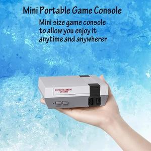 Image 5 - فيديو الألعاب الطفولة وحدة تحكم تتريس 8Bit الكلاسيكية الرجعية NES TV لعبة AV ميناء المدمج في 620 ألعاب المزدوج مقبض اللعبة هدية