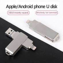 USB flash drive OTG high Speed drive 512GB 256GB 128GB 64GB 32GB 16GB 8GB external storage double Application Micro USB Stick for Apple Android gadget Offer Customization