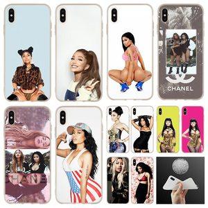 Чехол для iphone 11Pro Nicki Minaj, мягкие силиконовые чехлы для телефонов iPhone 11 Pro 7 8 Plus XR XS Max 4 5 5S SE 6 6s Funda Etui