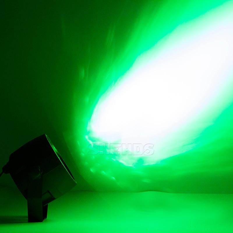 Wireless Remote Control RGBW 12x3W UV Disco Wash Flat Light Equipment 8 Channels DMX 512 LED Uplight Stage Lighting Effect Light 5