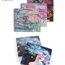 Chalk Book Pastel Kuelox-Oil Book-Supplies Crayon Drawing Special-Book/paper-Painting