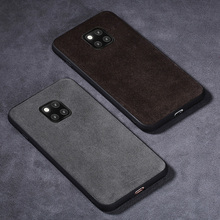 Phone Case For Huawei Mate 20 10 9 Pro P10 P20 Lite Suede leather Soft TPU Edge Cover For Honor 8X Max 9 10 Nova 3 3i  capa magnet car holder case for honor 8x 10lite note10 huawei mate9 p10 clear soft tpu cover for huawei p20 pro lite nova 3 3i cases