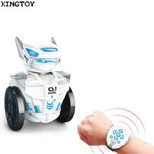 Watch Remote Intelligent Smart Programing Education RC Robots 2.4G Control Toy 163910(China)