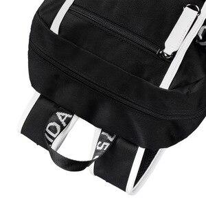 Image 4 - Mochilas escolares de moda para estudiantes de animación, mochilas escolares para niño y niña, mochila para ordenador portátil con carga USB